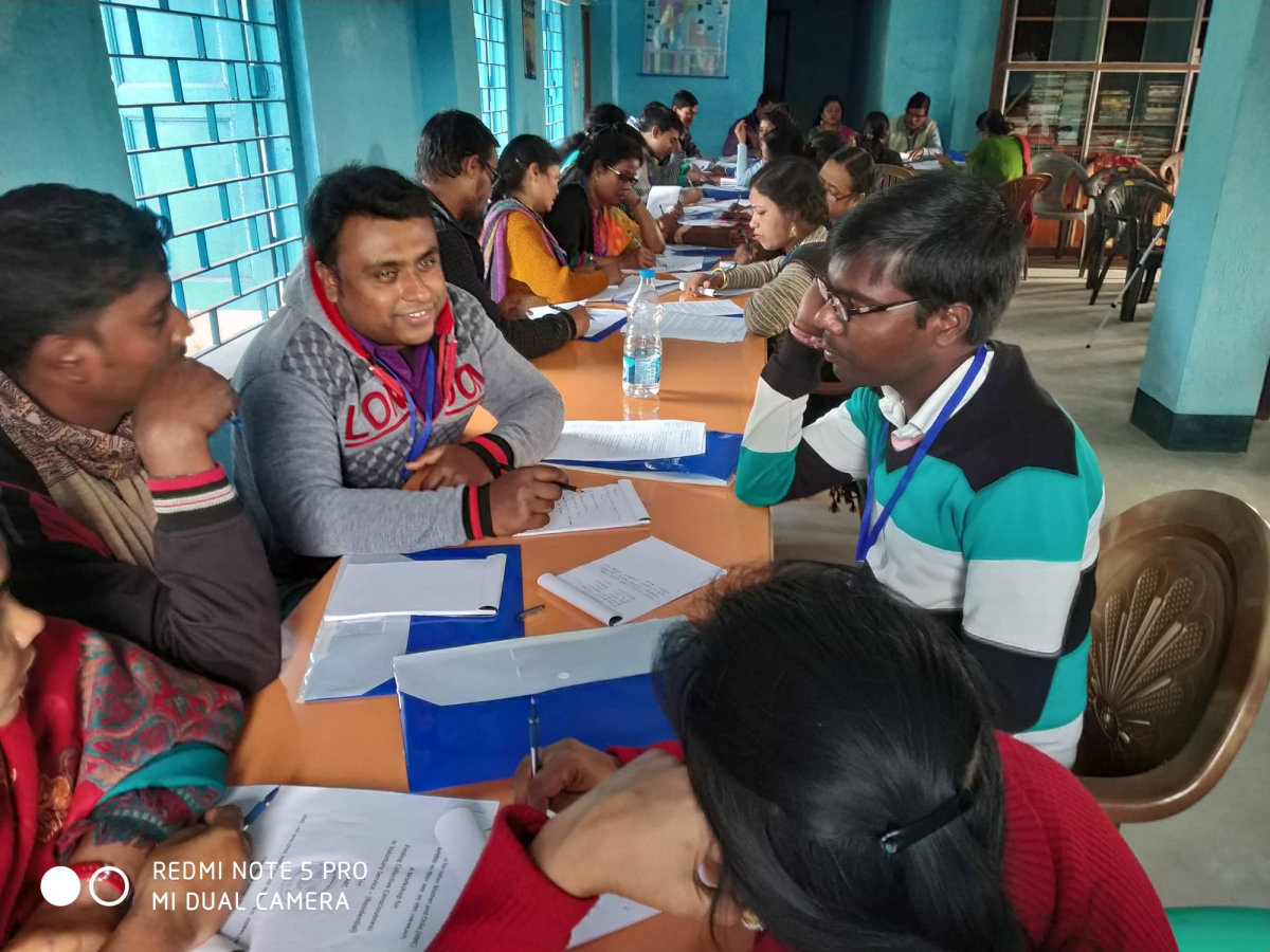 An Inspiring Workshop for Volunteers