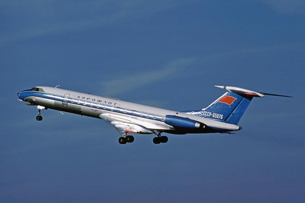 Tupolev Tu-134A .