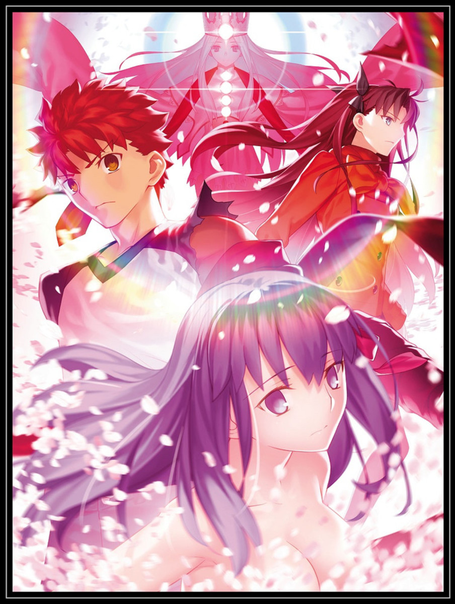 """""""Fate/Stay Night: Heavens Feel III: Spring Song"""" blu-ray cover."""
