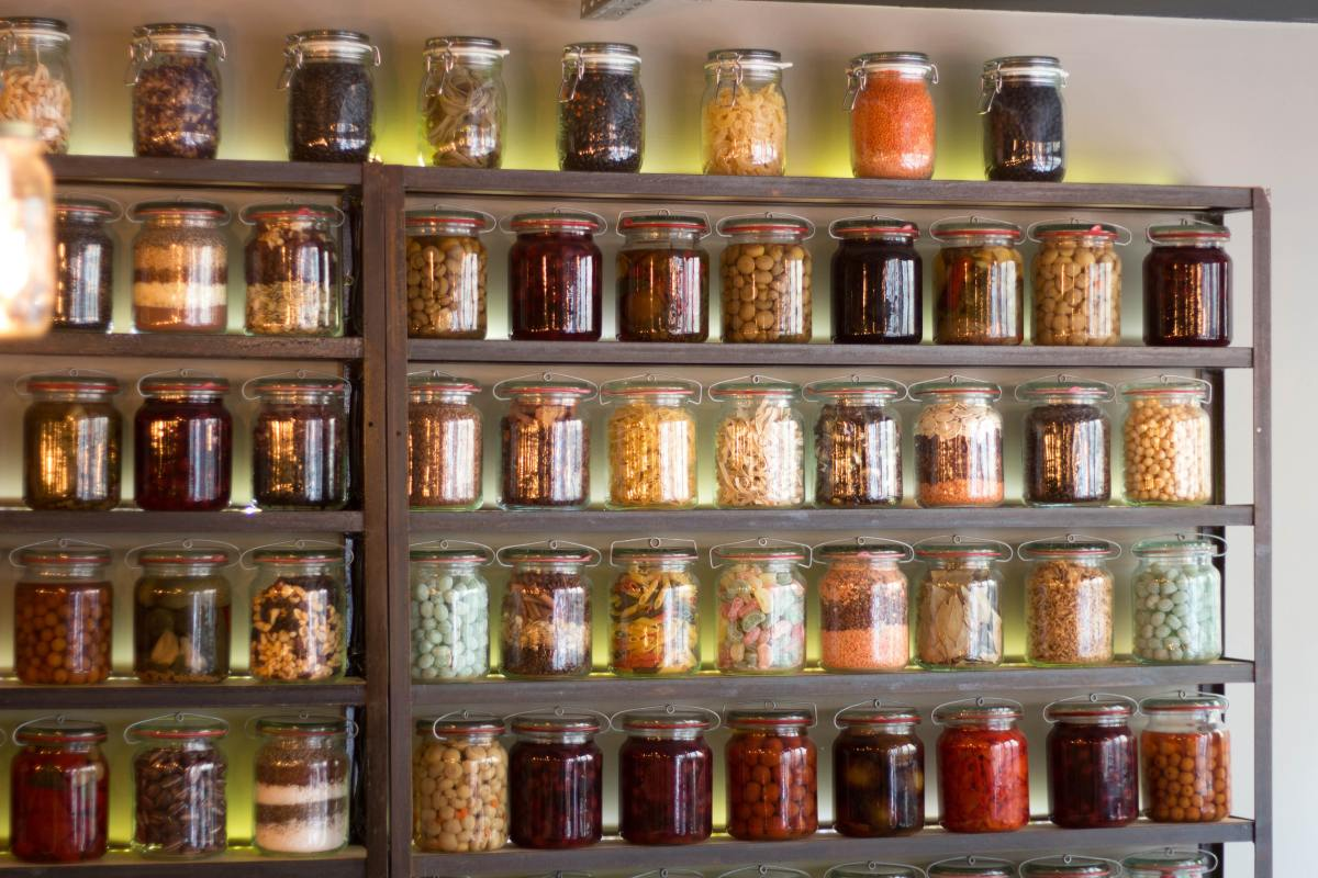 It's a good idea to maintain at least two weeks' worth of food in your pantry.