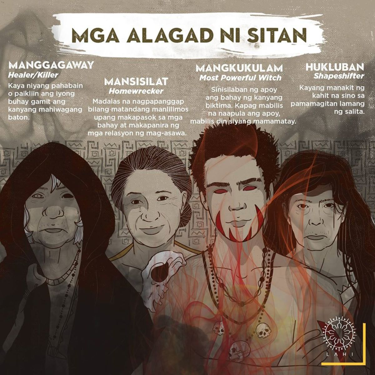 The four agents of Sitan.