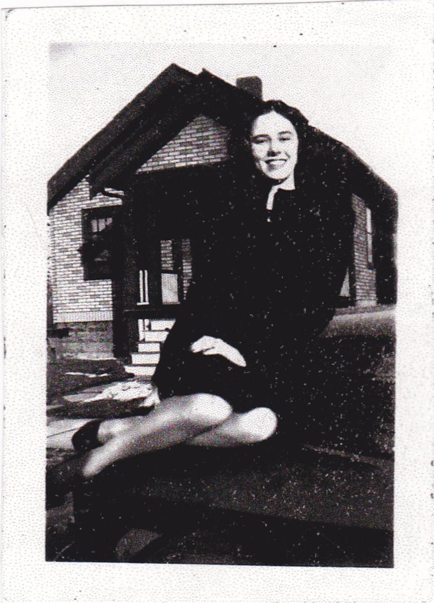 aunt Helen.  Photo taken probably in late 40s.