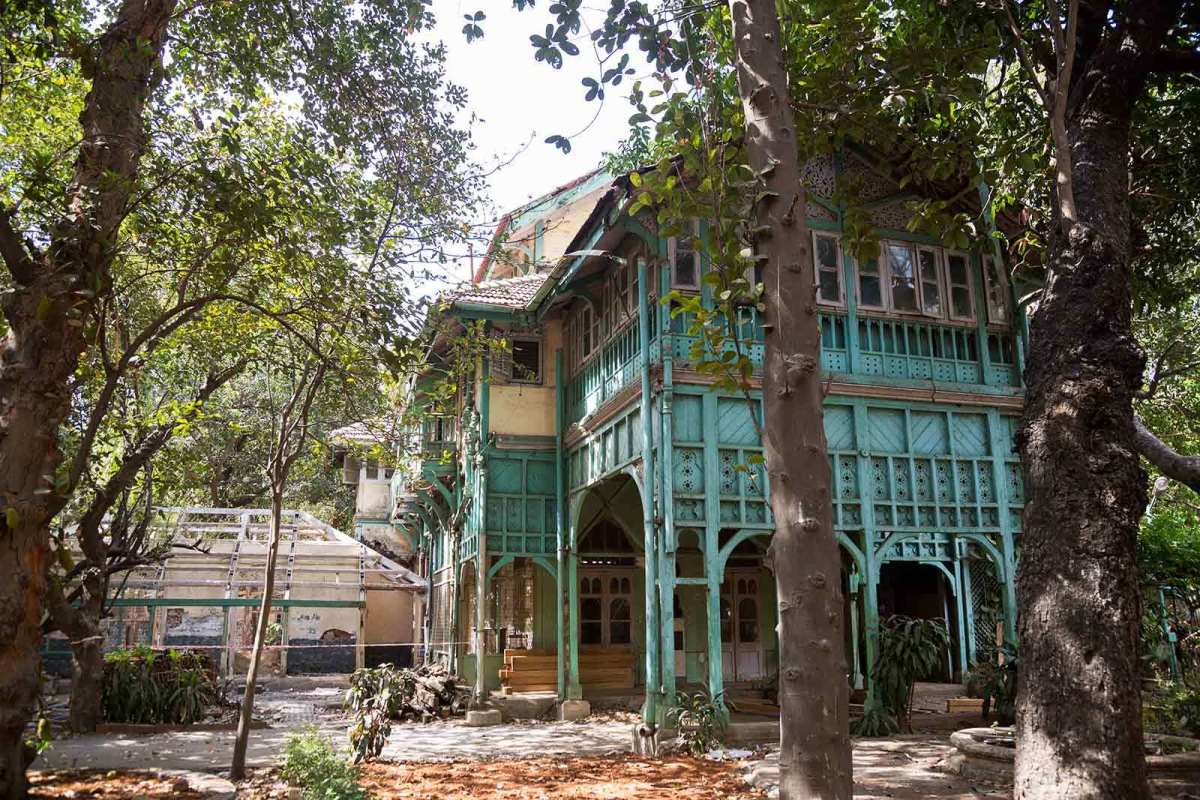 Home where Kipling was born now a museum in Mumbai