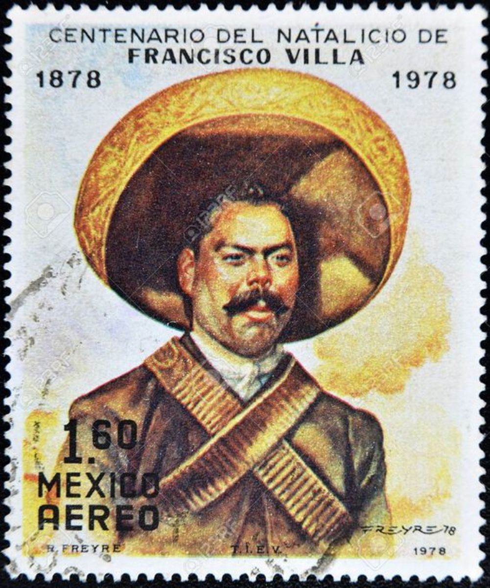 """Your hero might be my villain.  Controversial Mexican Revolutionary Pancho Villa is one of many celebrity participants in Winston Groom's """"El Paso."""""""