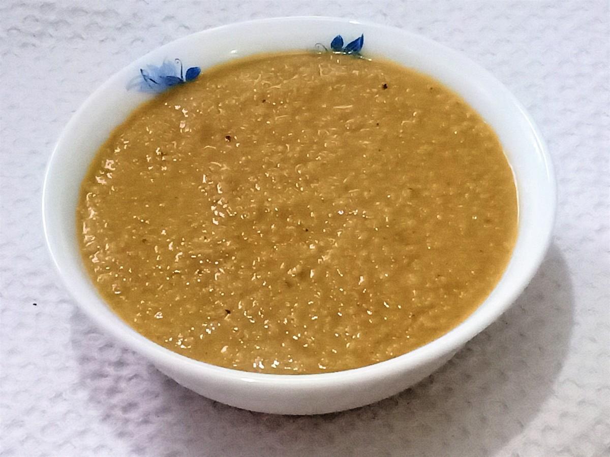 Millet dalia (porridge)