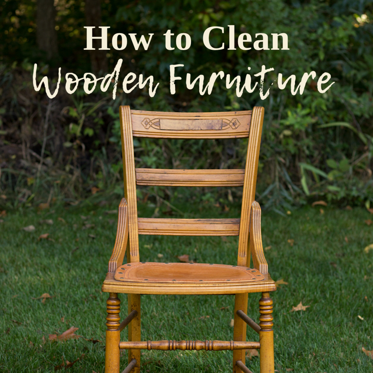 Learn how to clean wood furniture with commercial wood cleaners, dish detergent and water, or TSP.