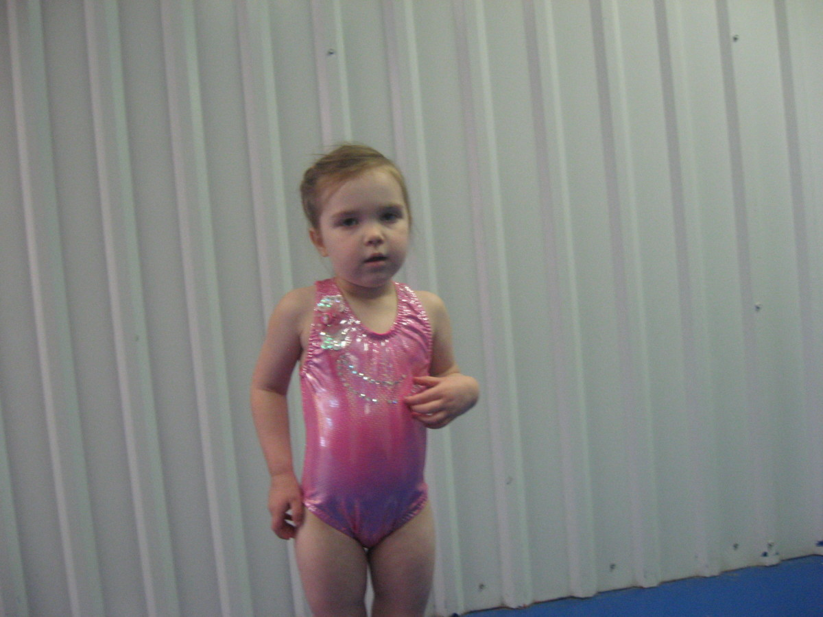 One of Brooklynn's leotards.