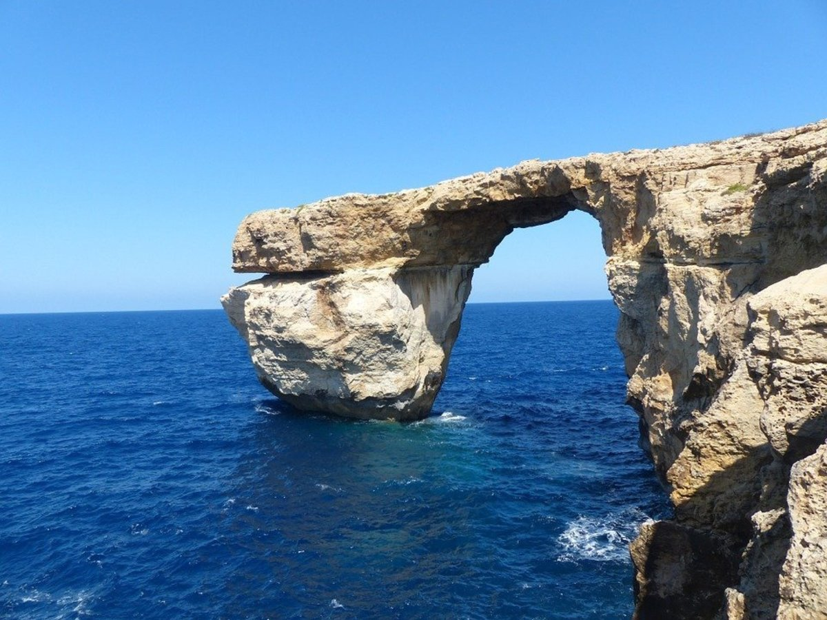 The Azure Window, sadly now collapsed