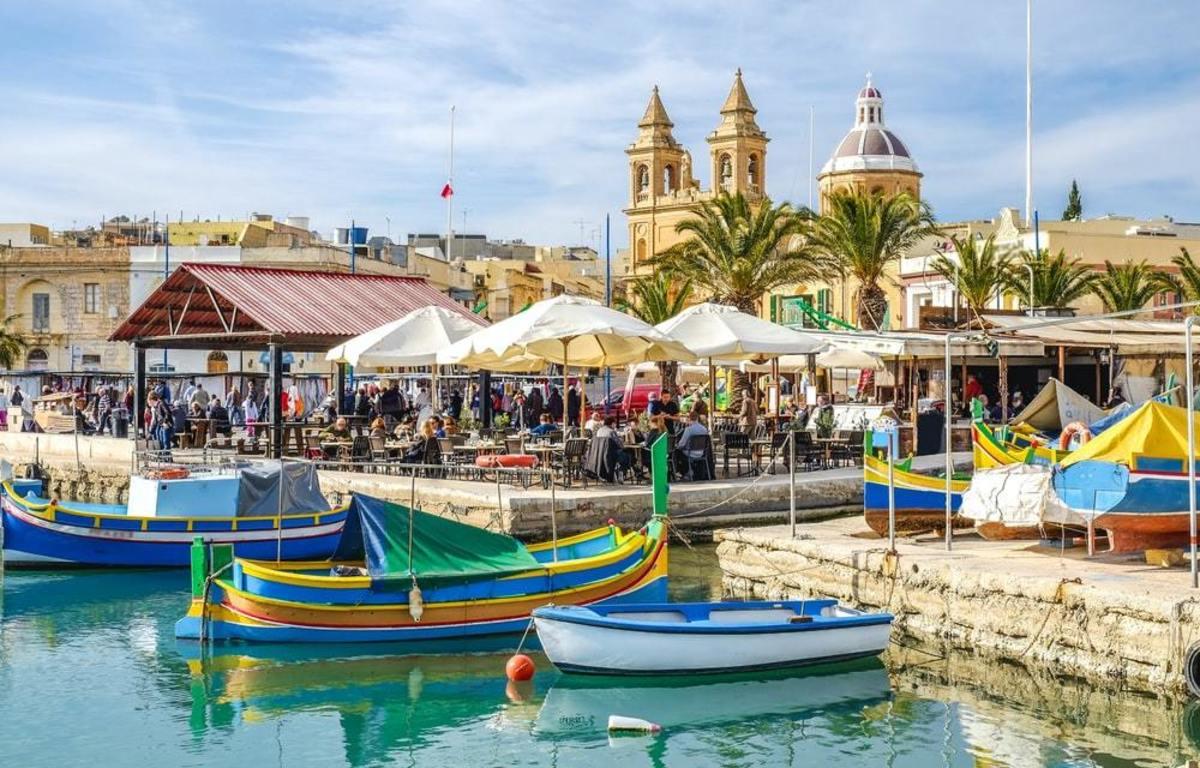 Malta's colourful boats