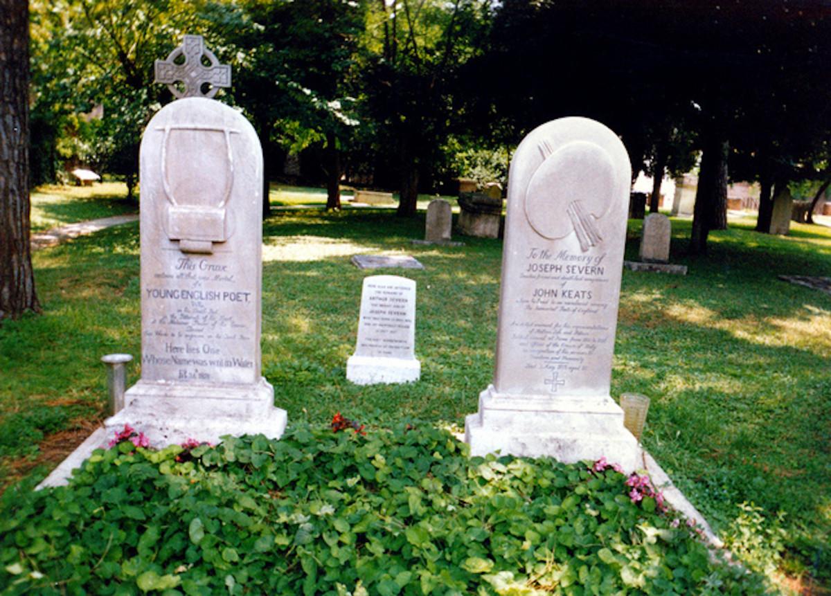 Graver Markers of John Keats and Joseph Severn
