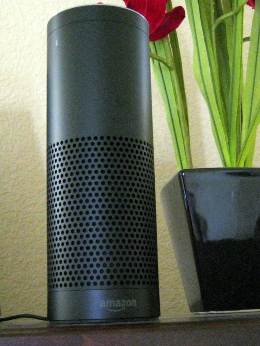 Pro: The Amazon Echo looks nice with nearly any decor.