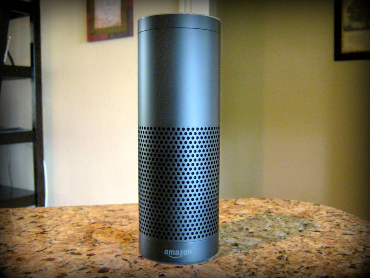 Meet my new Amazon Echo. Her name (or wake word) is Alexa. Let's discuss her pros and cons in this review.
