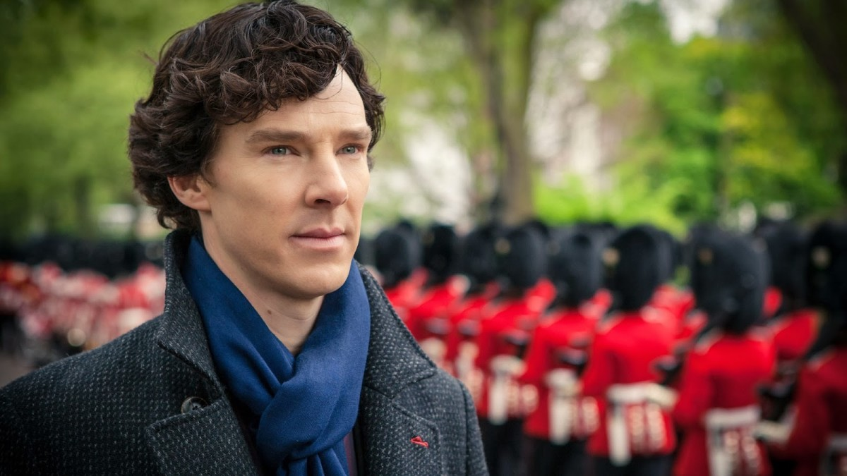 Sherlock on an investigation for one of the Queen's guards that asked him to help him.