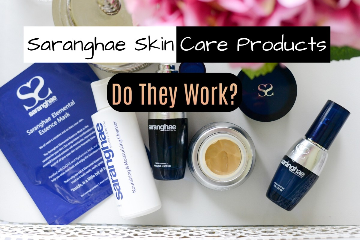 The products are meant to help reduce noticeable signs of aging. After using them, I do admit they give my skin a glowing, dewy look.