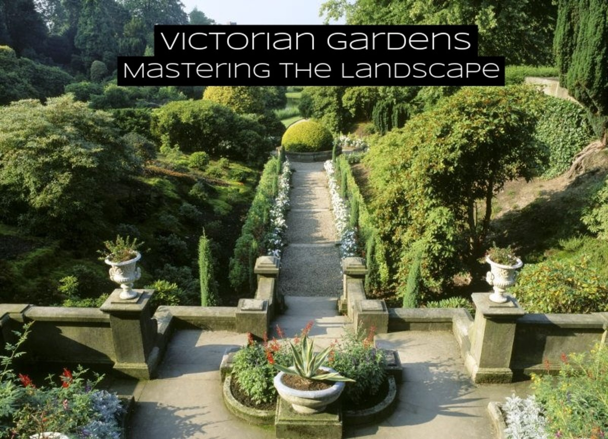 Victorian gardens are about mastering the landscape. The first step is to have a good handle on the lawn. You want it manicured, level, and a healthy green hue.