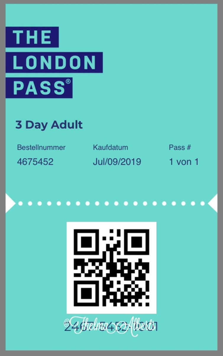 The London Pass for 3 days.