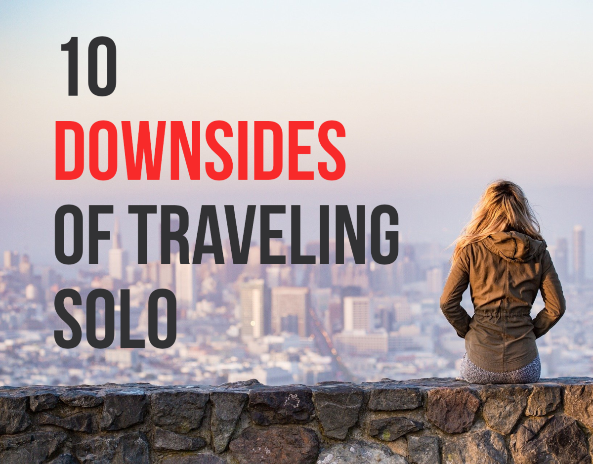 For a list of the 10 disadvantages of solo travel, read on...