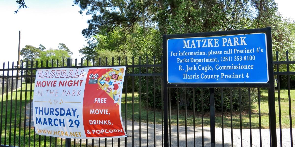 Matzke Park in Houston, Texas