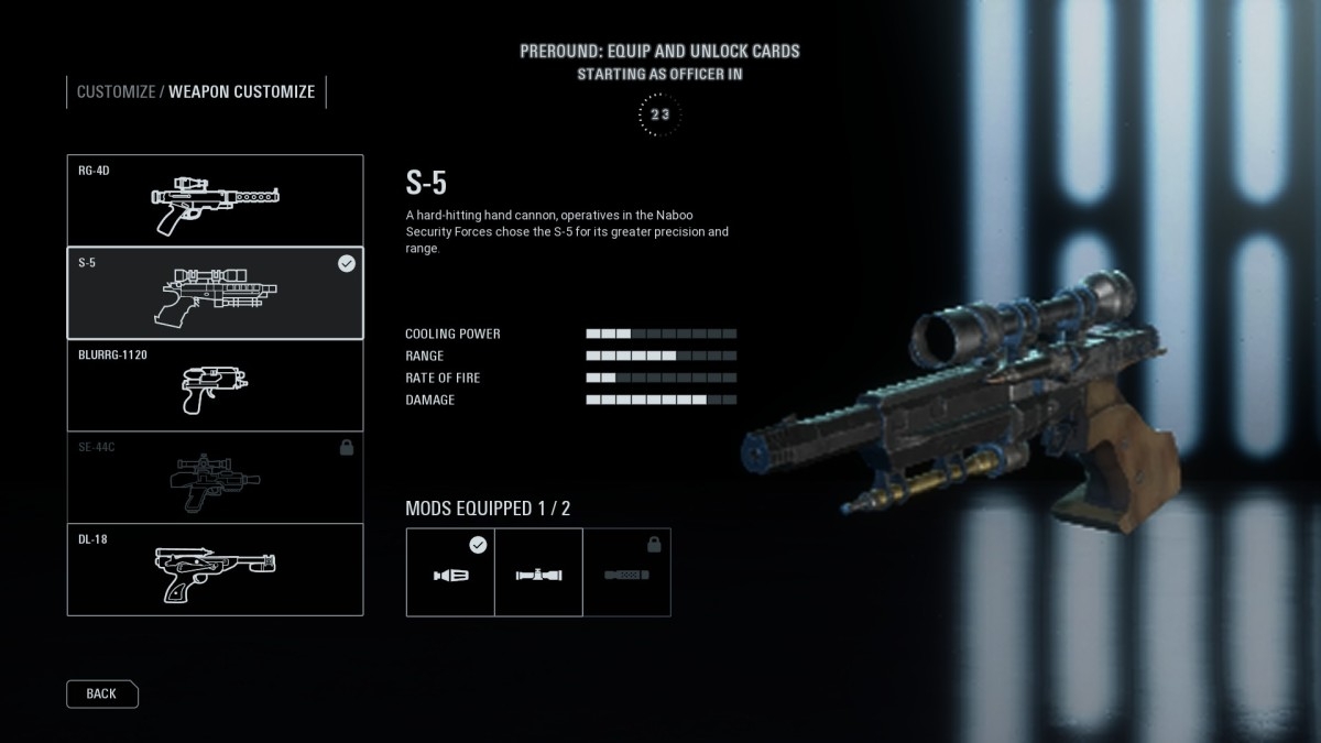 This is the best weapon for the Officer, hands down. No other weapon hammers out damage like this sucker right here.