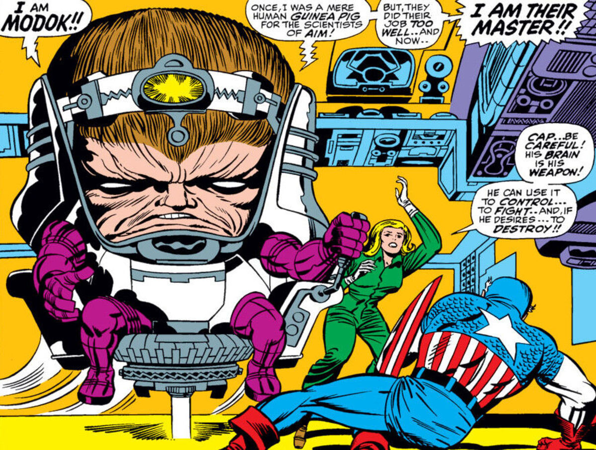 MODOK's first appearance in Tales of Suspense