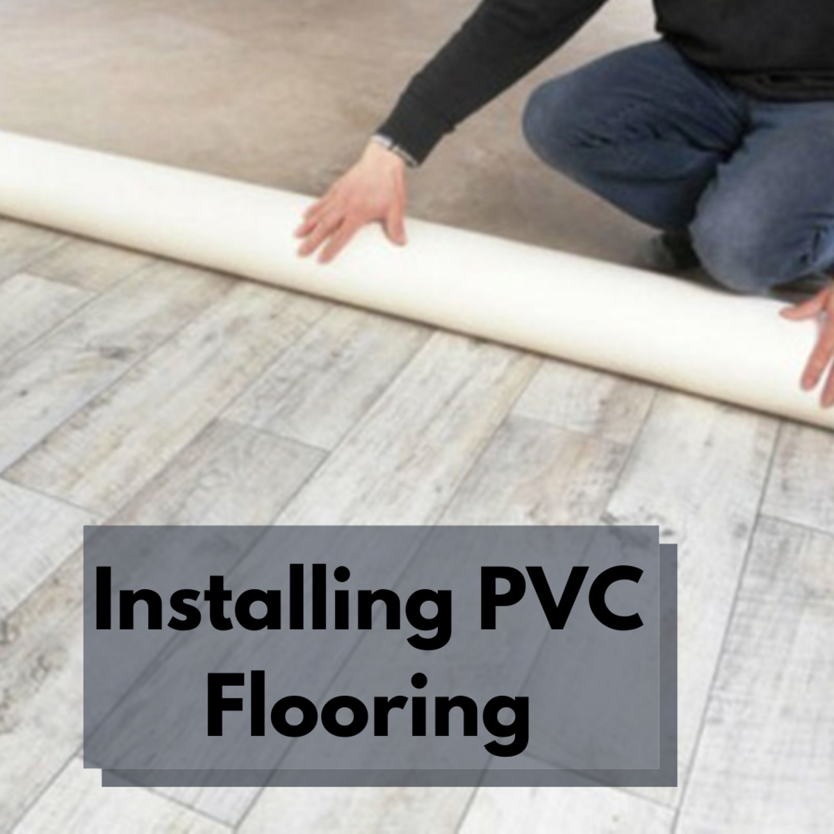 Learn the steps involved in installing your own PVC flooring