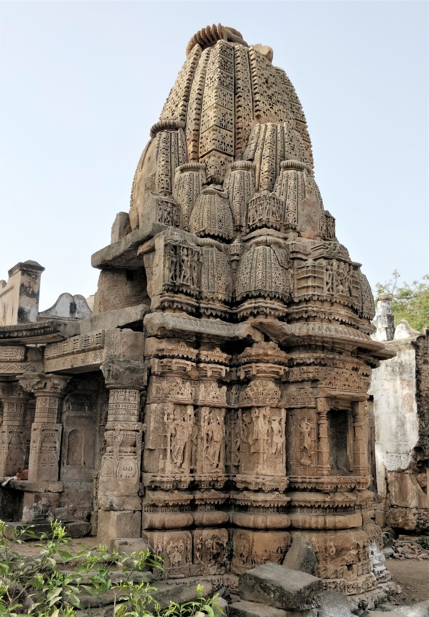 The small temple on western side
