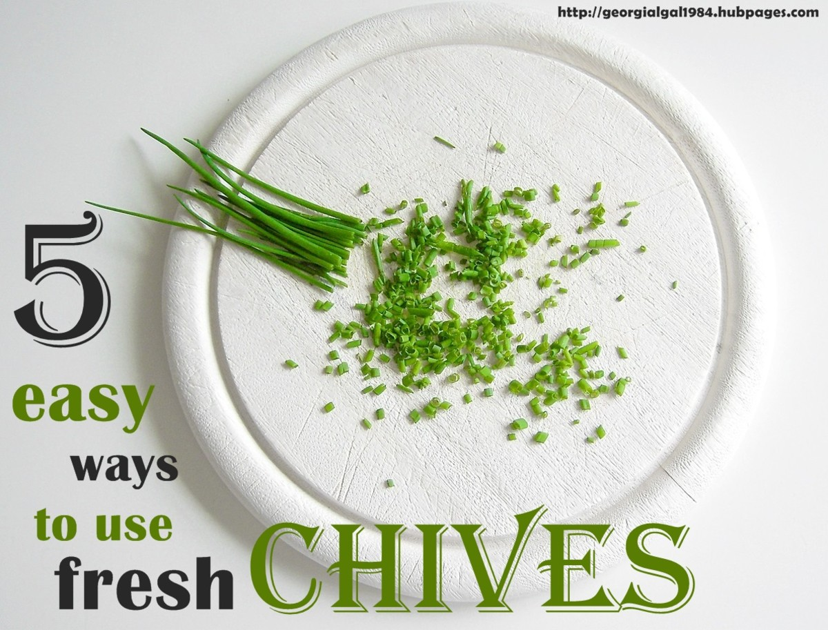 5 Easy Ways To Use Fresh Chives
