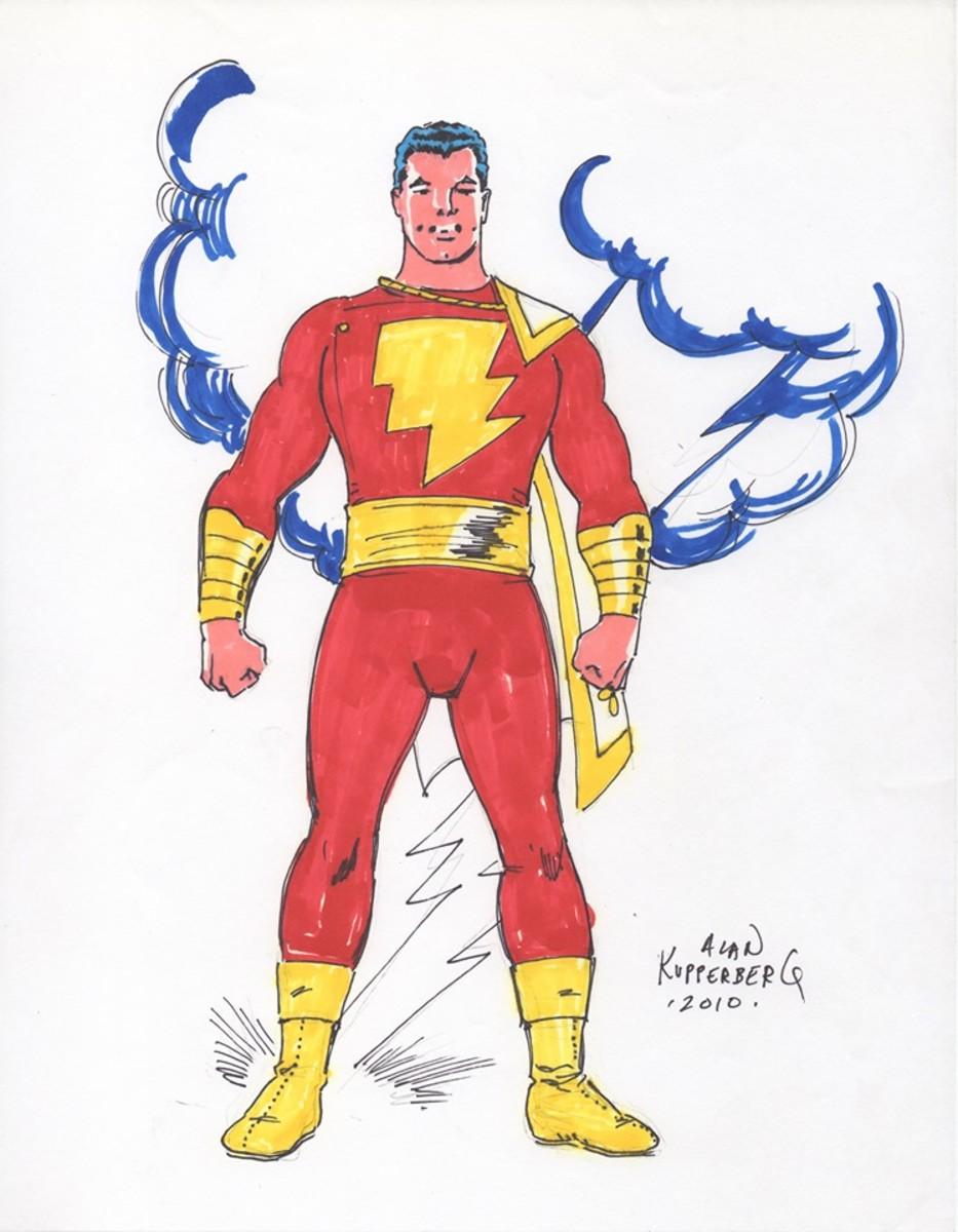 Captain Marvel by Alan Kupperberg