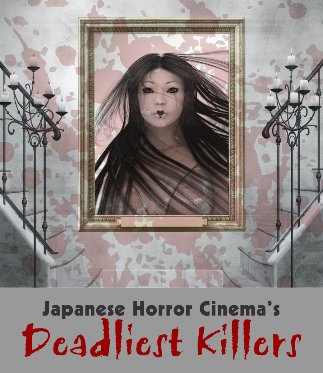 The kings and queens of murder of Japanese horror cinema.