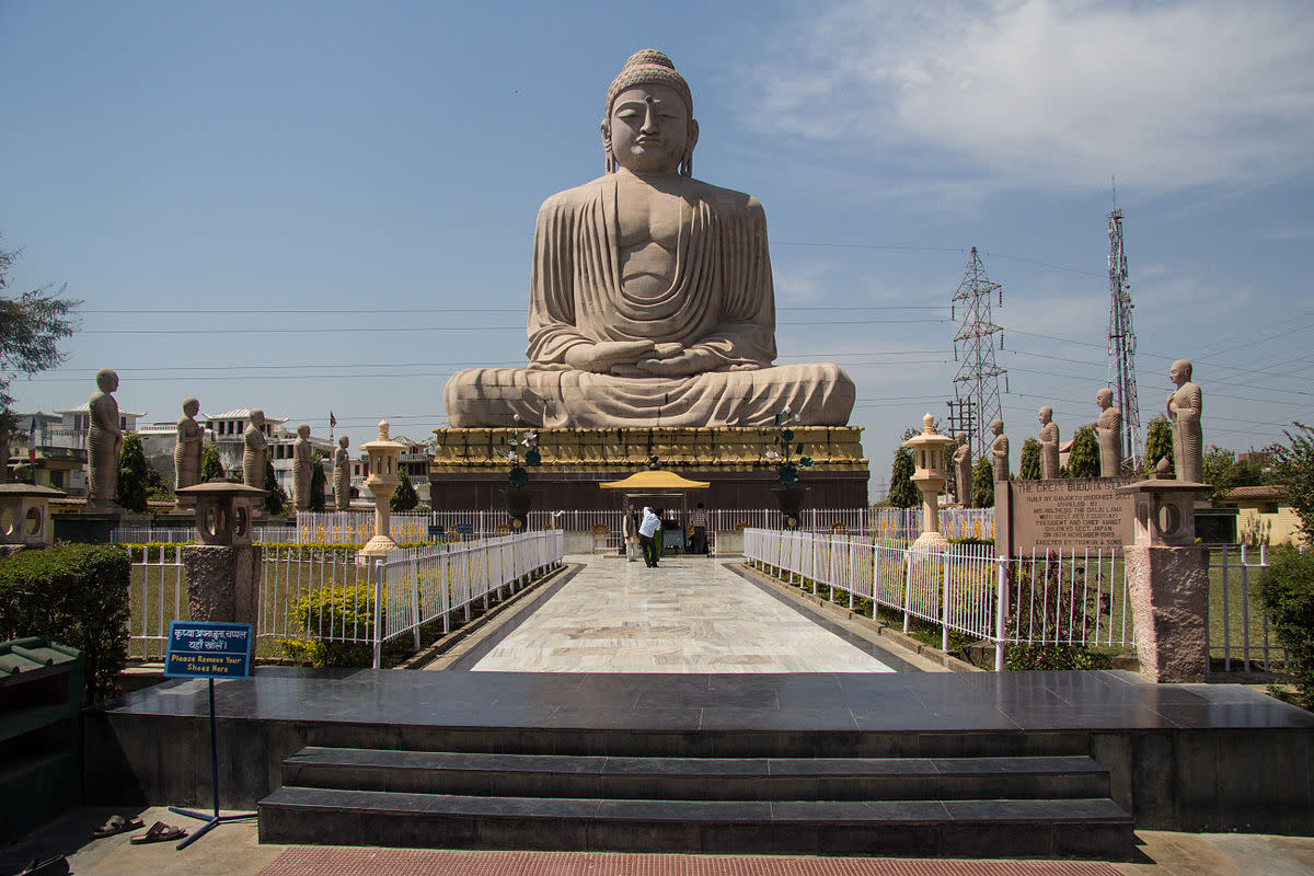 The great Buddha at Bodh-gaya India