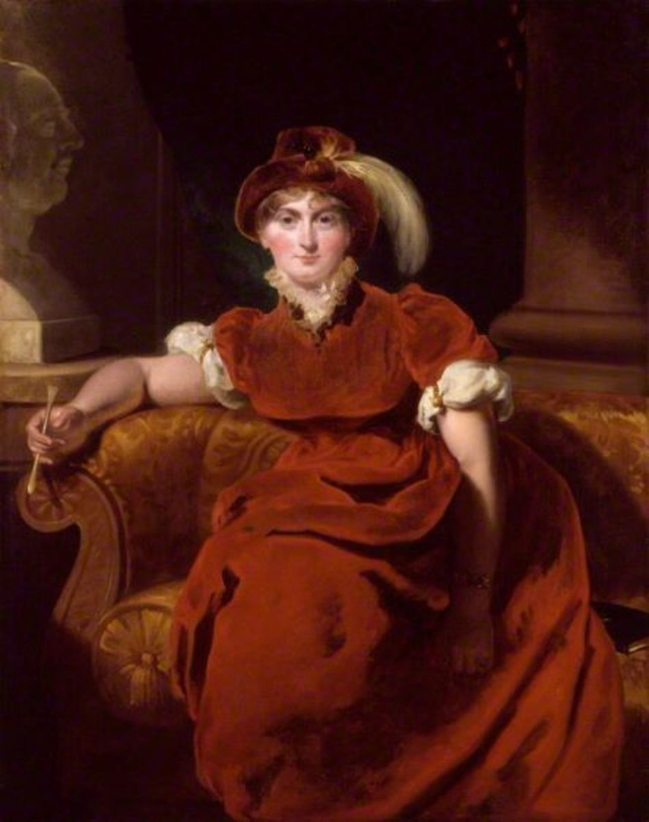 Caroline of Brunswick, hardly blameless herself but she had George to contend with.
