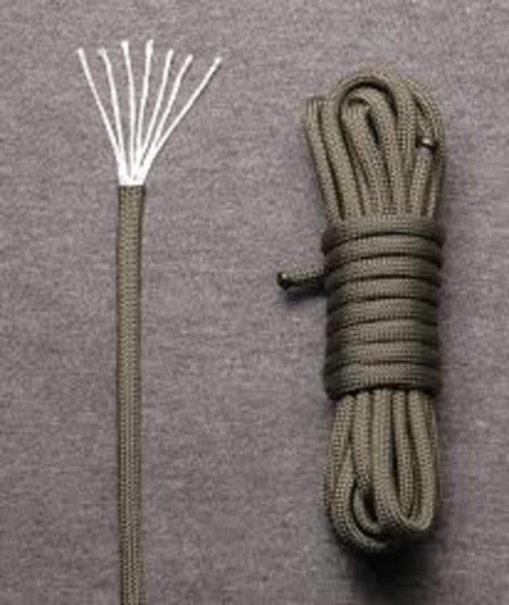 One of the main benefits of paracord is the inner strands. You can use them as much or more than the paracord itself.
