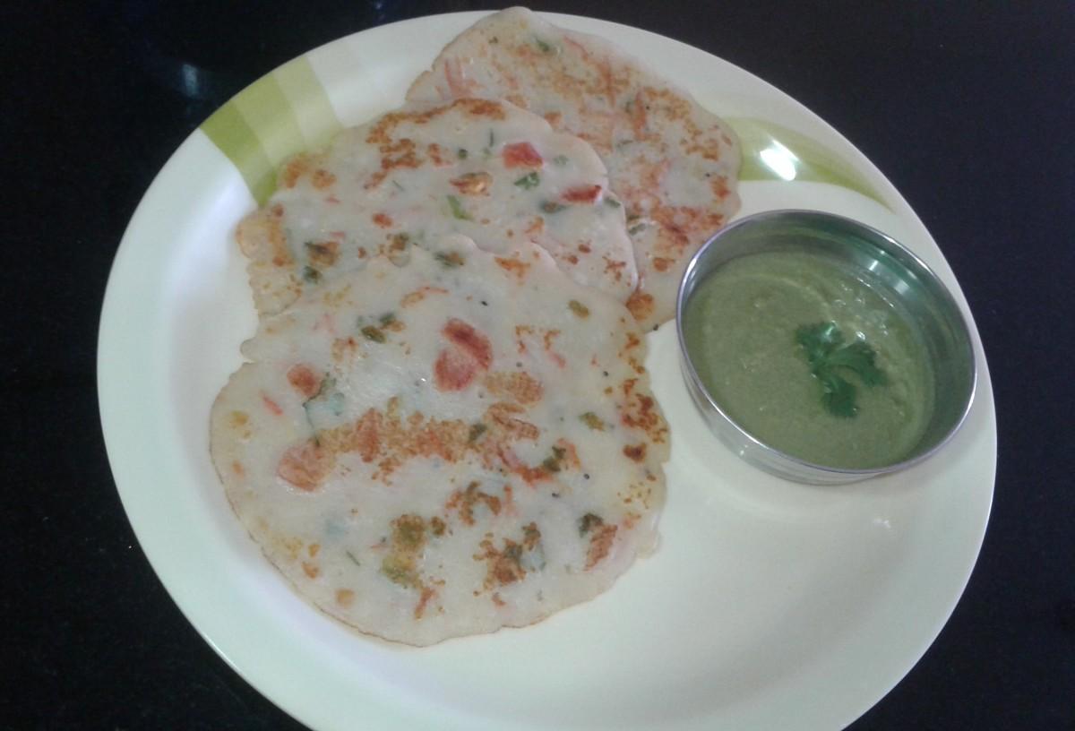 Suji Paneer Chilla: A Healthy Pancake