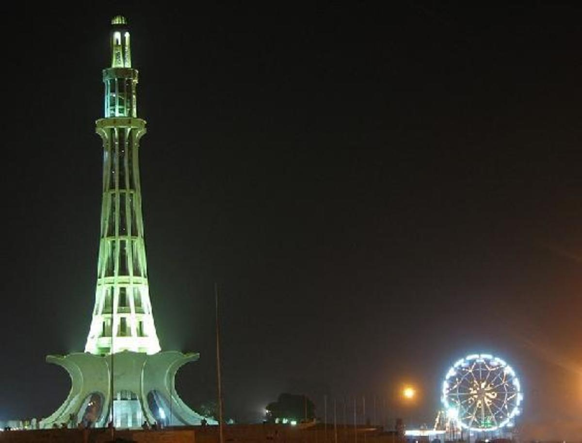 Minar-e-Pakistan stands where Pakistan Resolution was passed on March 23, 1940.