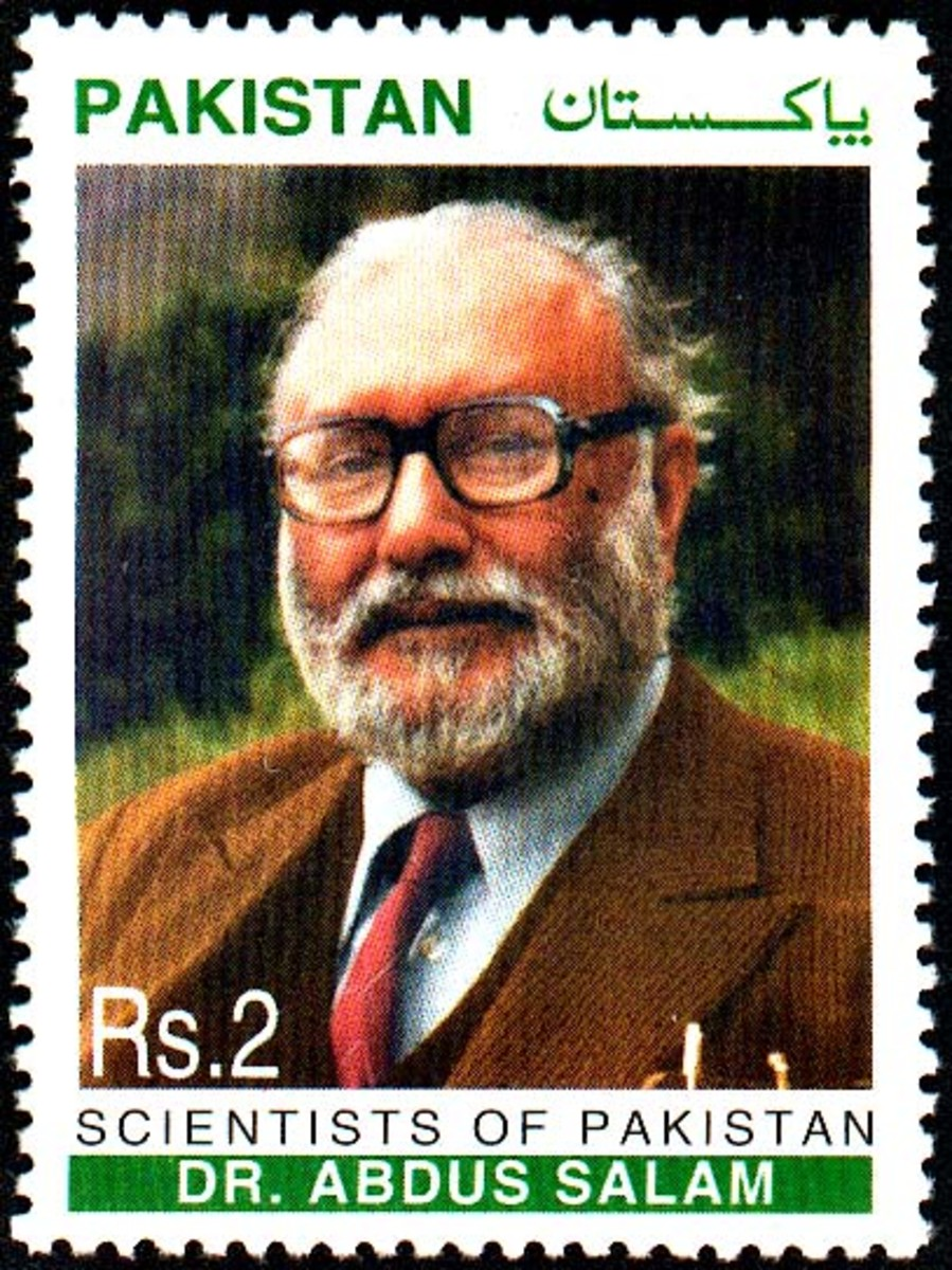 Dr. Abdus Salam on a Pakistani issue stamp