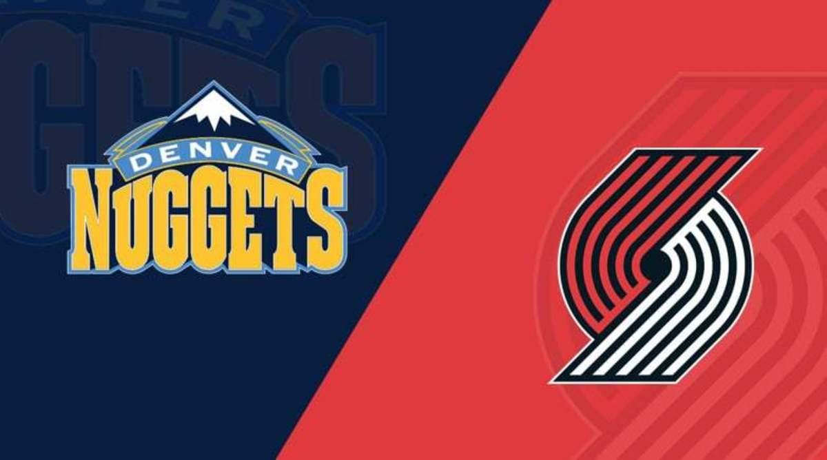 Nuggets swept the Blazers (4-0) in the regular season.
