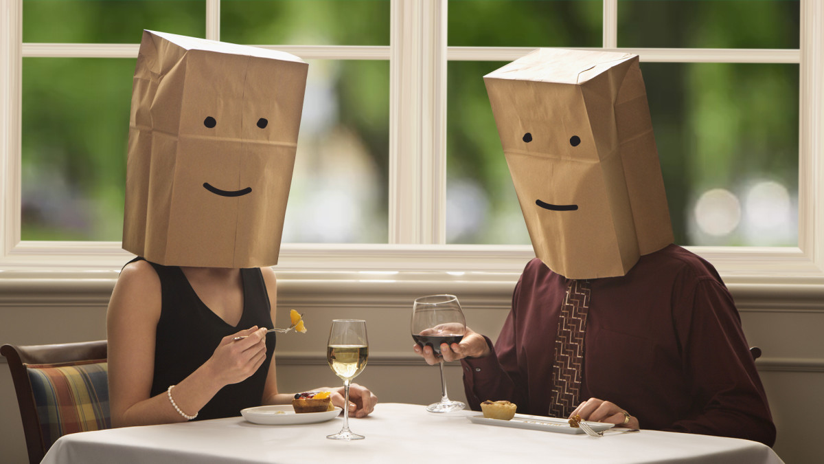 Couples  who are unprepared shouldn't agree to blind dates.