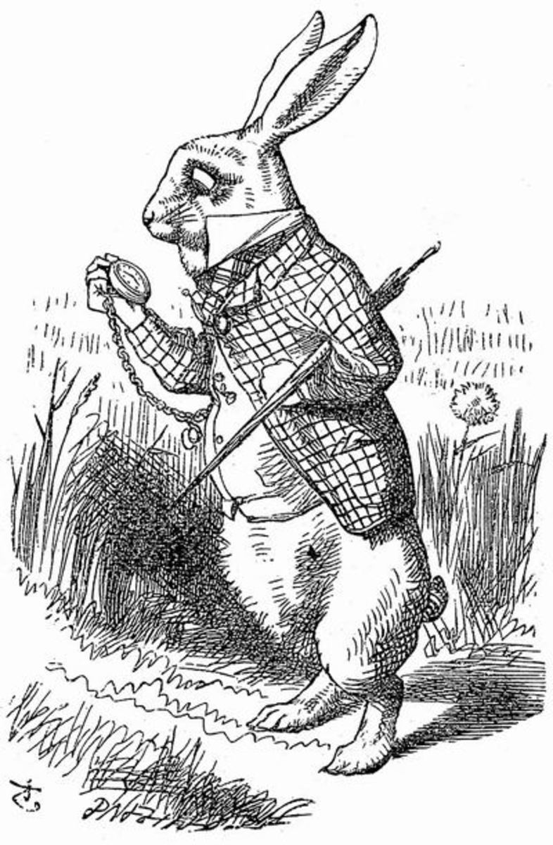 The White Rabbit - Illustration by John Tenniel