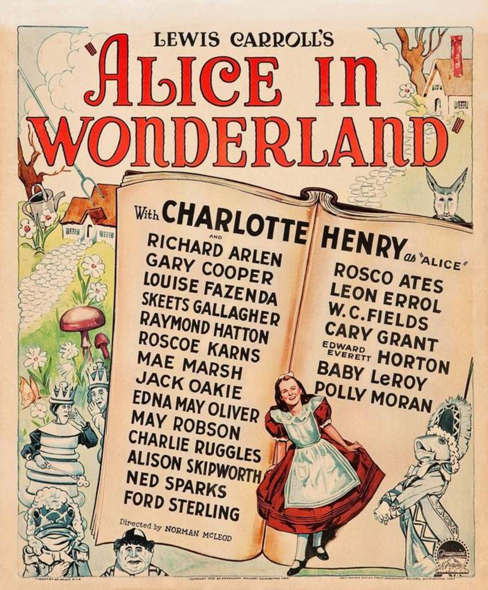 Alice in Wonderland (1933) poster