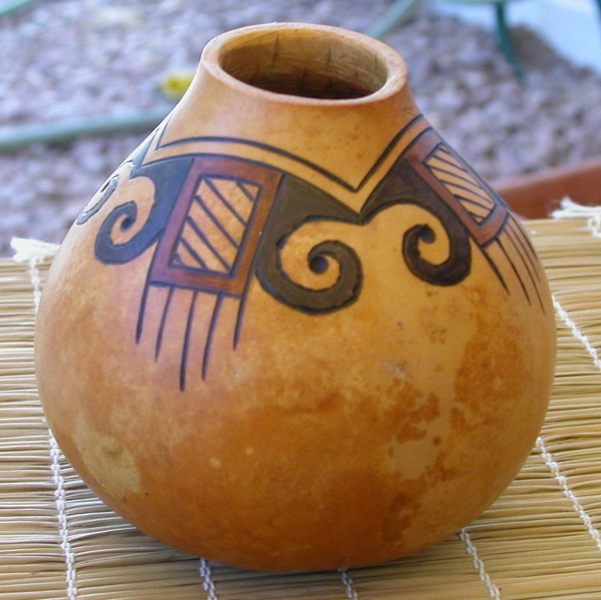 Pyrography not only used for wood burning for Where to buy gourds for crafts