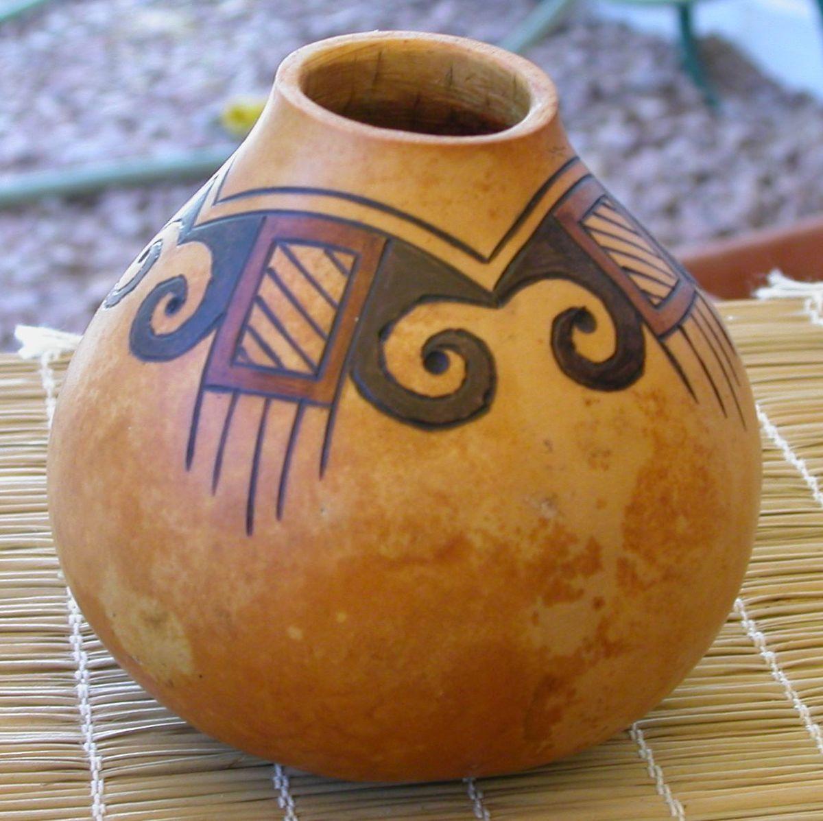 Devil's Claw mini vase (SOLD)