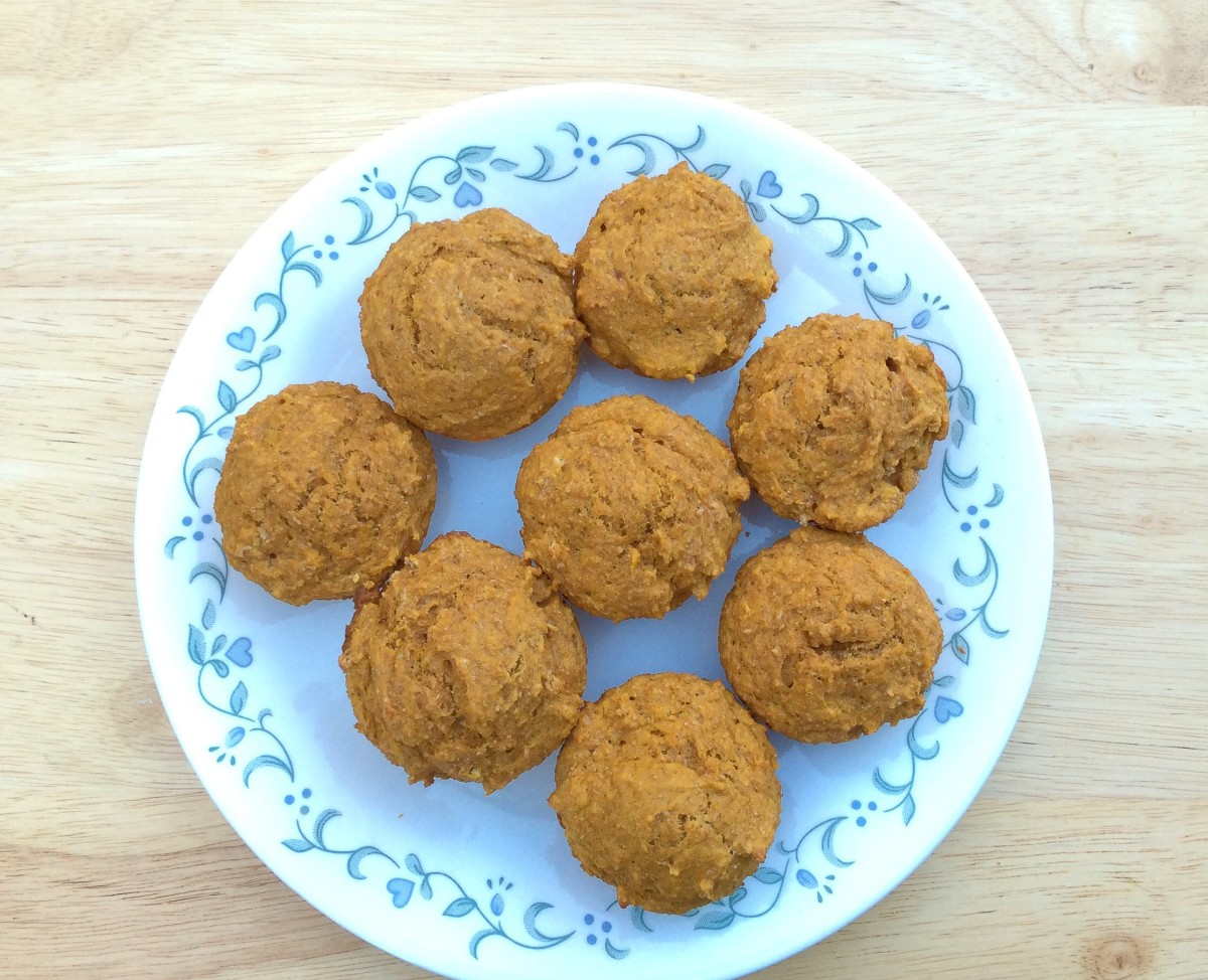 Pumpkin Spice Muffins Recipe - Healthy, Nutritious and Delicious
