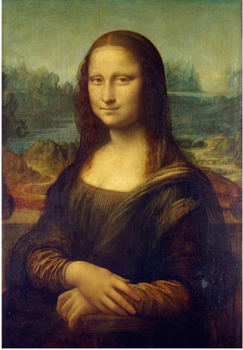 Leonardo Da Vinci's Monalisa