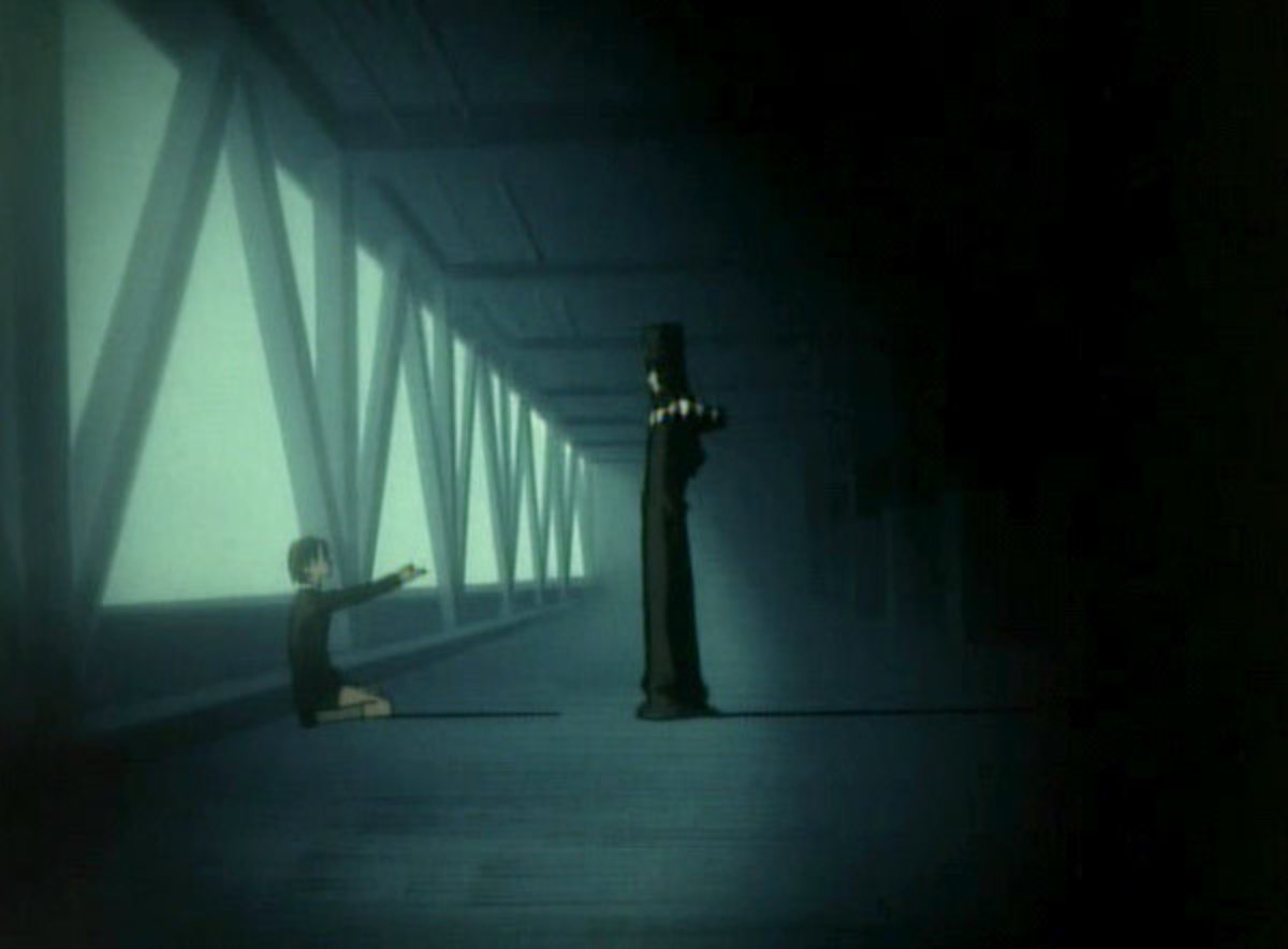 """A student wants to be """"taken away"""" by Boogiepop."""