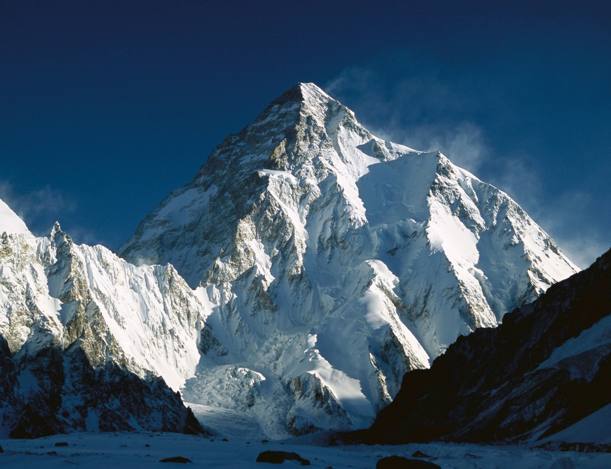K2 is the world's second highest mountain.