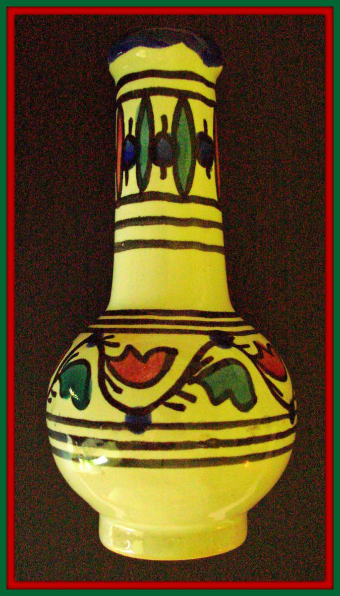 Late Carthage Punic Republic, Pre-Roman Era, Ointment Vase