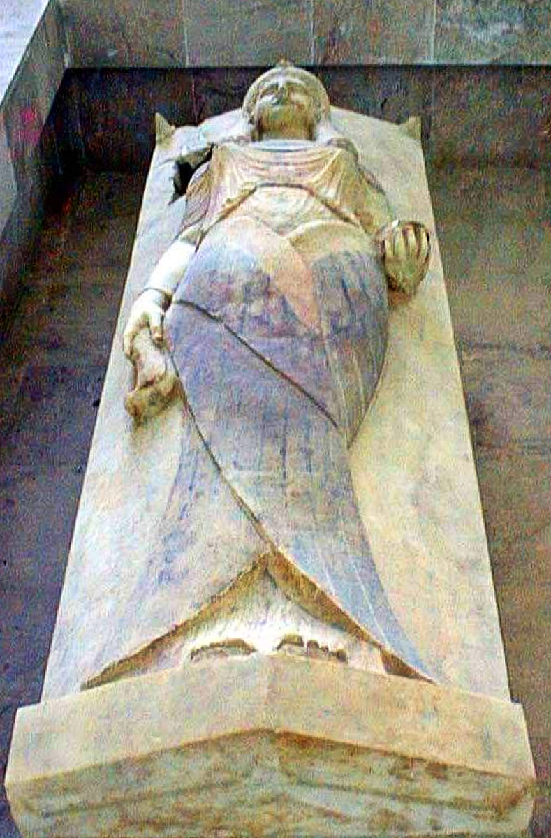 The Beautiful Sarcophagus of a Punic Era Priestess at the Carthage Museum