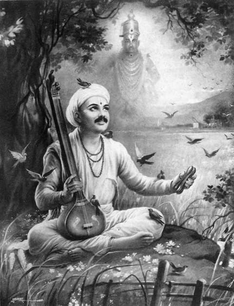 He was a great devotee of Lord Vitthala.
