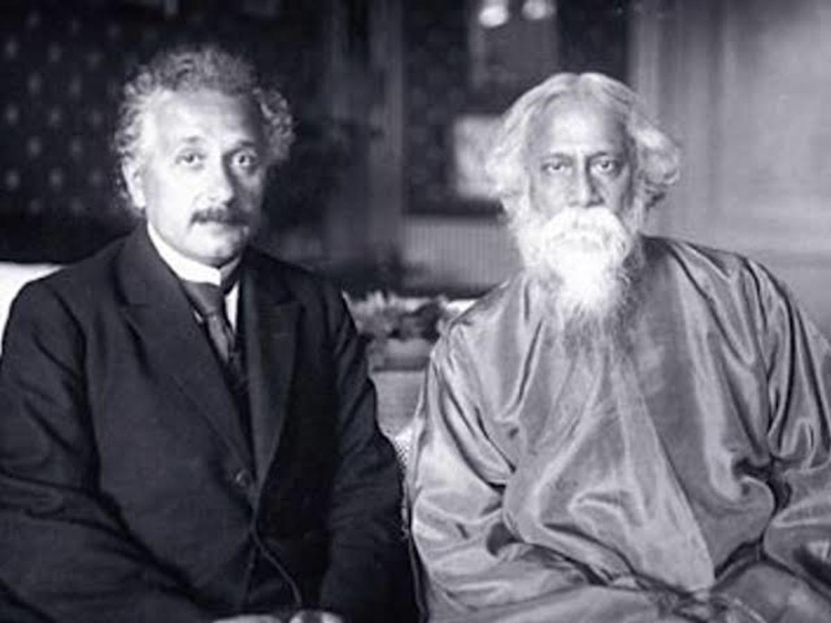 Rabindranath and Einstein