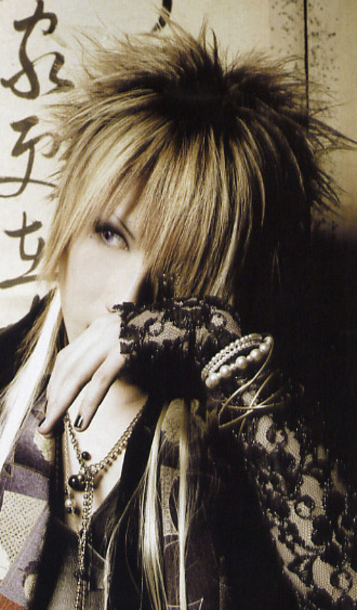 Ruki Alice Nine hairstyle.